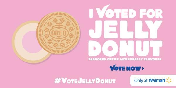 oreo jelly donut blippar