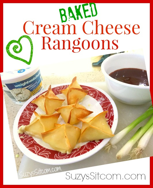 baked cream cheese rangoons