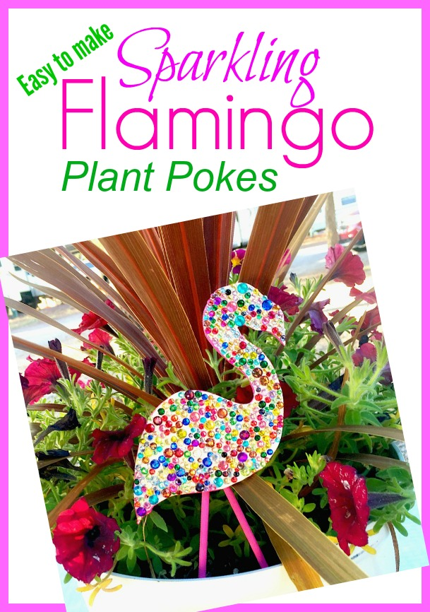 flamingo plant pokes
