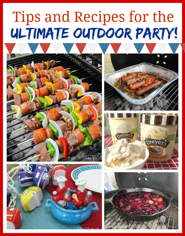Grilling tips for the ultimate outdoor party