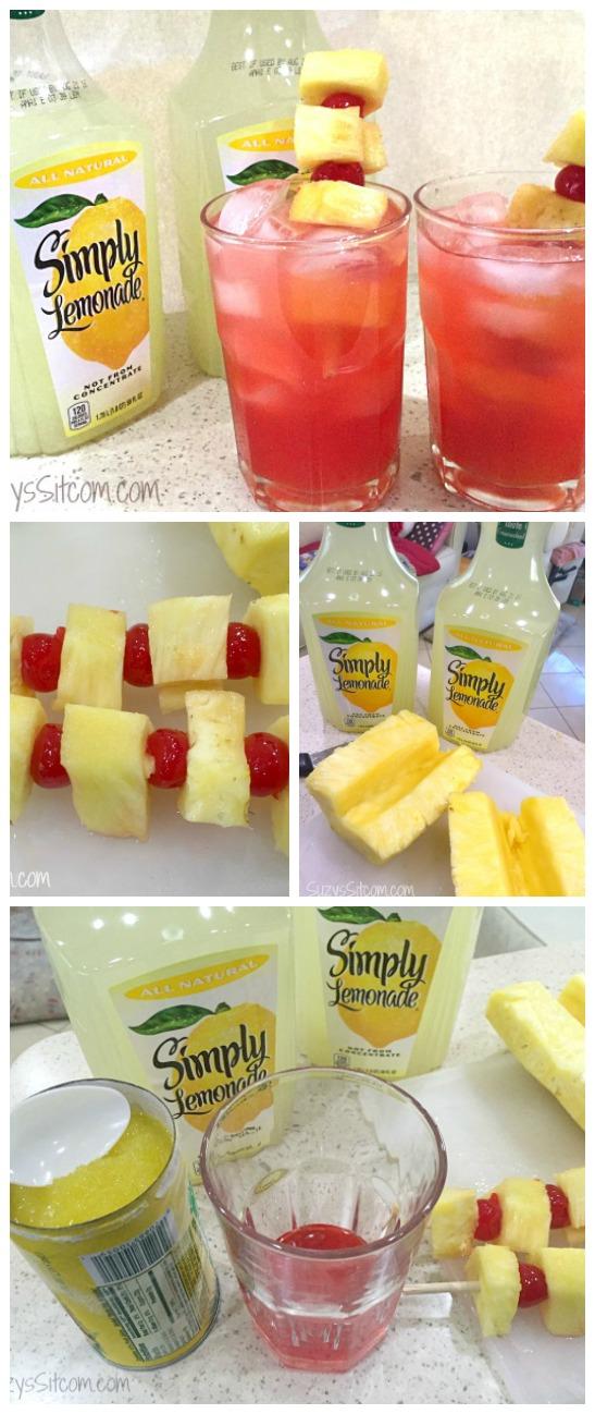 pineapple cherry lemonade12