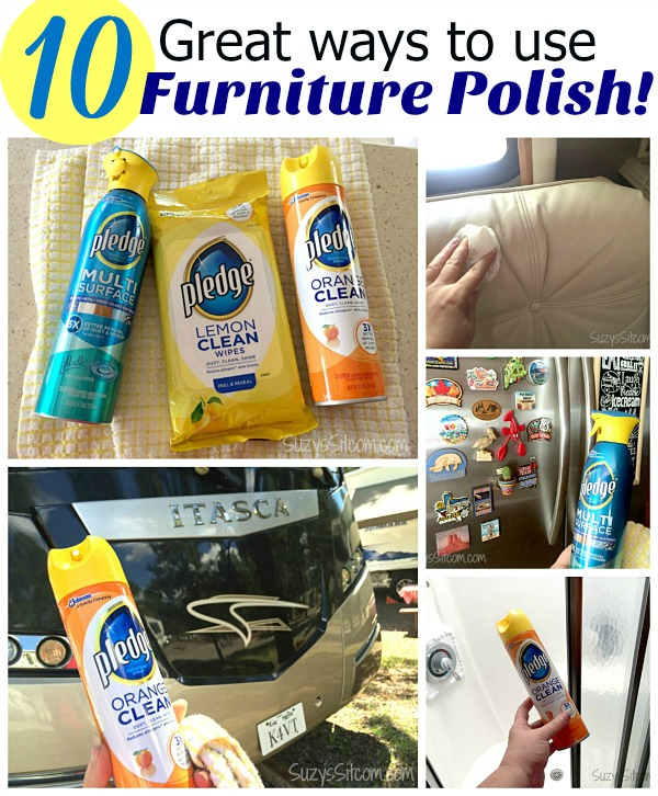 10 great ways to use furniture polish