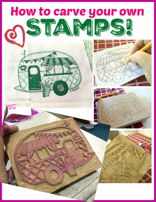 How to carve your own stamps