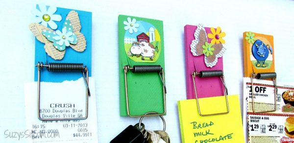 easy diy mousetrap clips