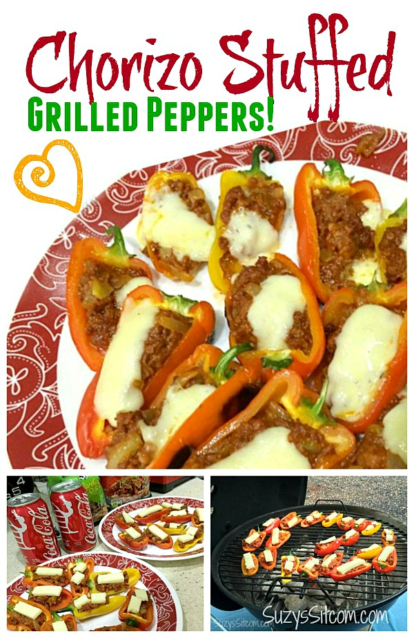 party fun with chorizo stuffed grilled peppers14
