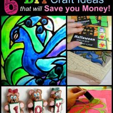 6 diy craft ideas to save you money