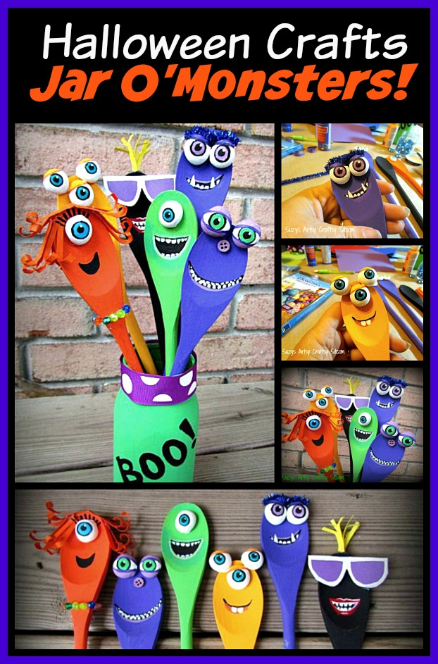 monster spoons jar o monsters