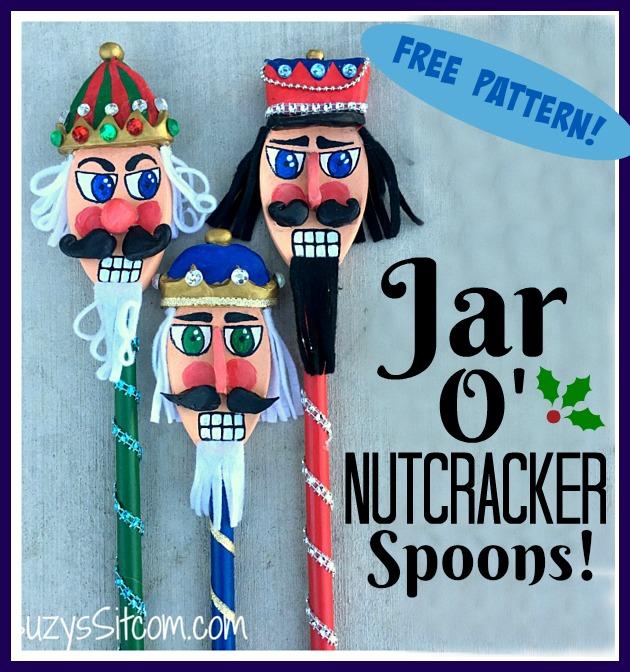 Jar O Nutcracker Spoons