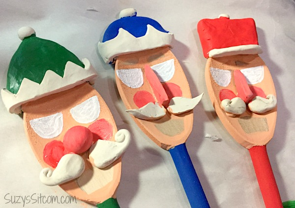 Jar O Nutcracker Spoons
