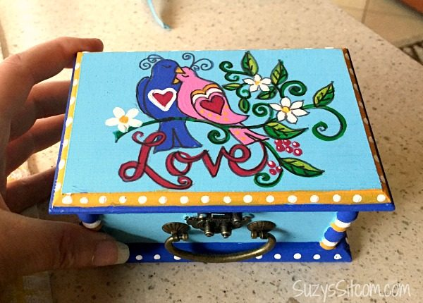 love birds words to live by painting diy11