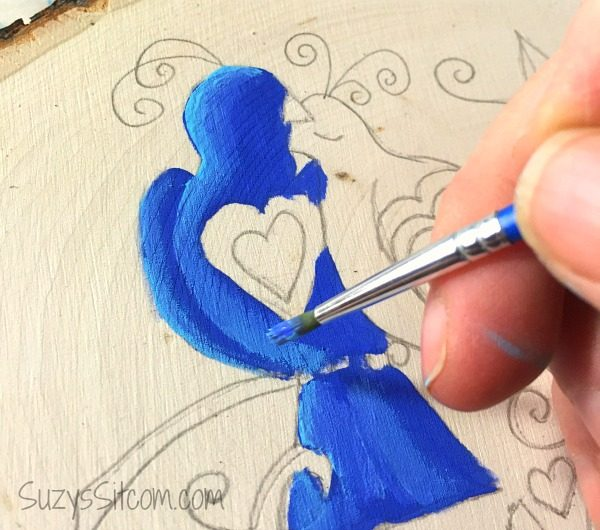love birds words to live by painting diy4