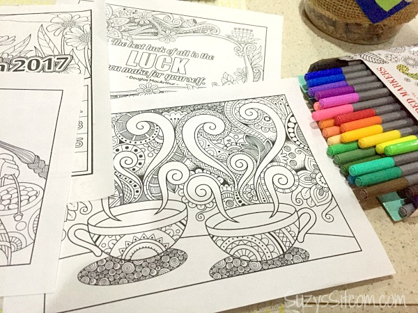 Coloring Pages For January Month : How to make money by coloring