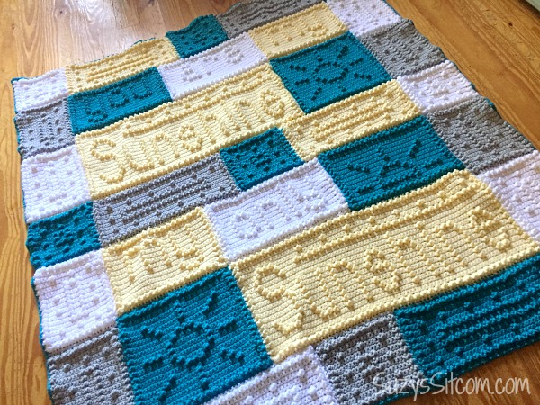 Free Crochet Pattern For You Are My Sunshine Blanket : You are my Sunshine Crochet Pattern!