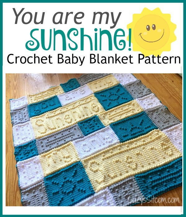 You are my Sunshine Crochet Pattern!