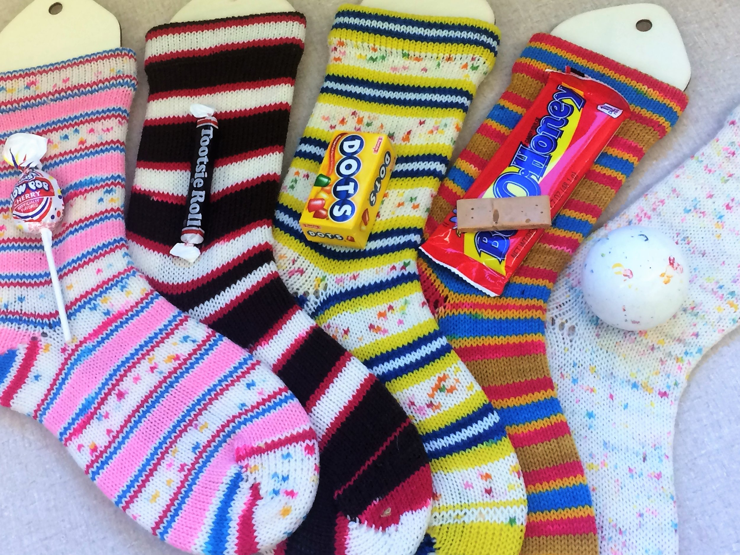 Basic sock knitting pattern and self striping yarn it self stripes as you knit simply knit along and a fun pattern will emerge bankloansurffo Gallery