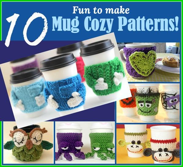 10 Fun Mug Cozy Patterns To Make
