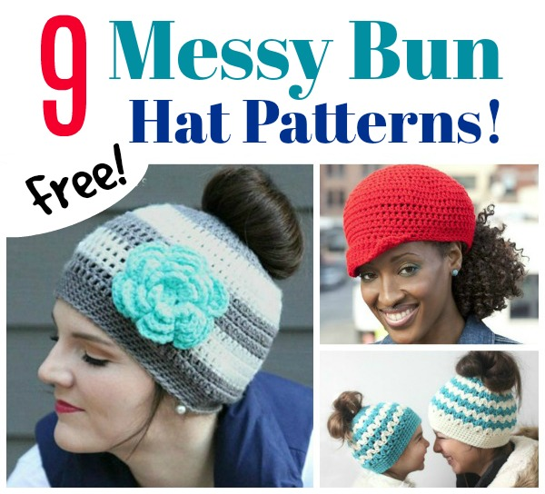 "These are hats with a hole in them for your ponytail preventing the dreaded  ""hat head"". And they are cute too! They are are quick project and make  wonderful ... 1eb025326b5"