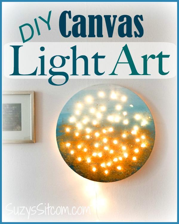 Diy Lighted Wall Art