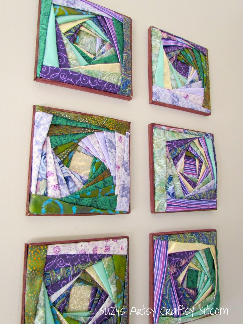 How To Make Beautiful Fabric Wall Art