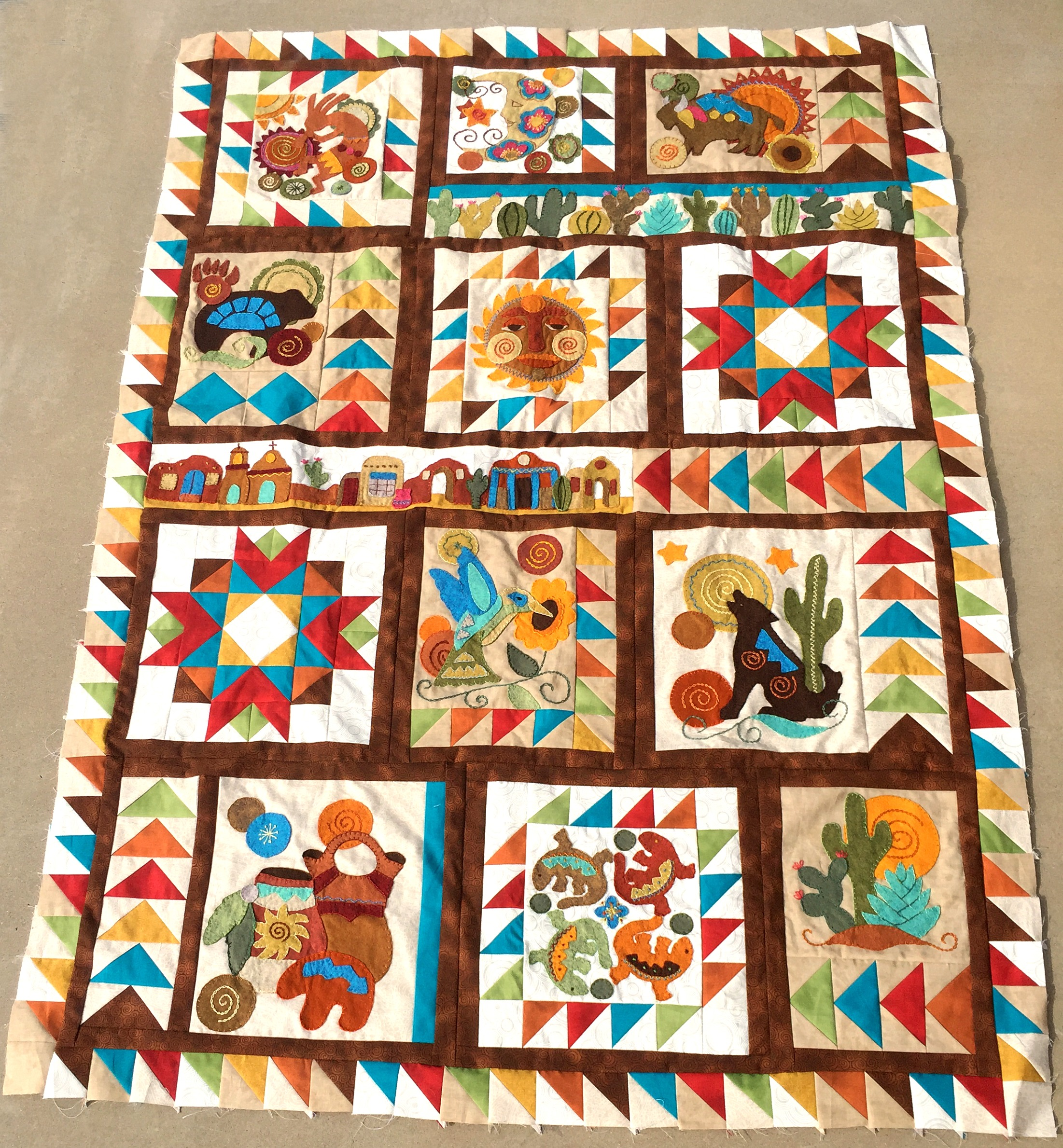 Sonoran Trail Block Of The Month Sew Along