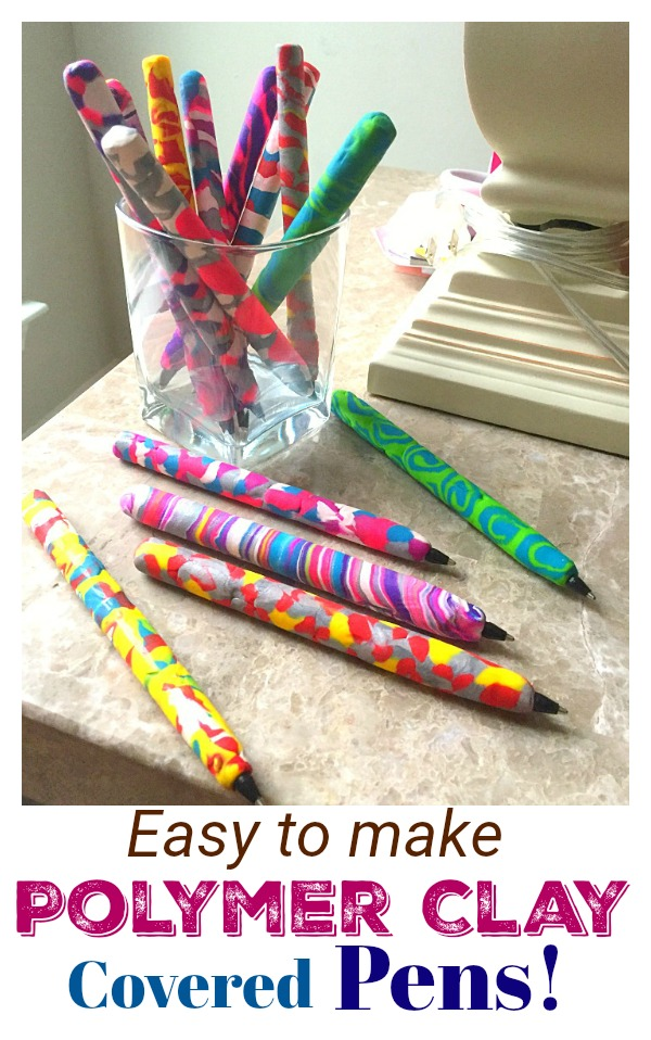 How To Make Decorative Pens With Polymer Clay