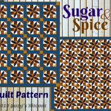 sugar and spice quilt pattern free block of the month