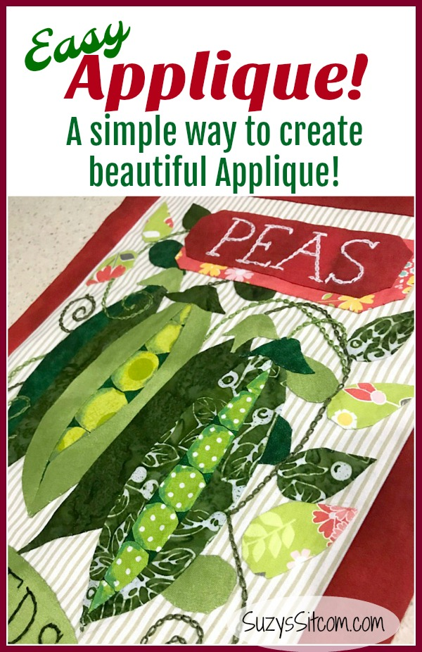 A simple way to create beautiful needle turned applique.