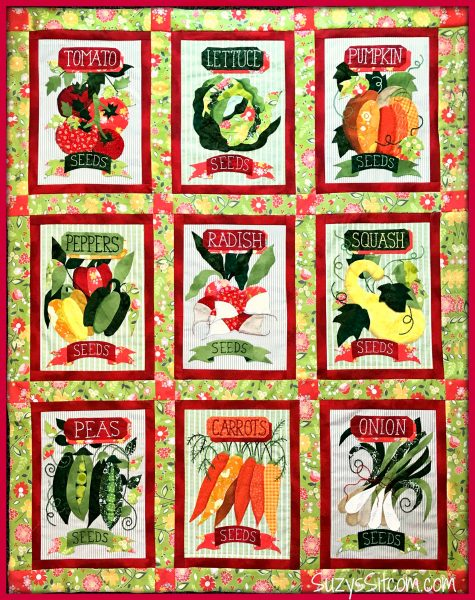 grandmas garden quilt pattern sew along