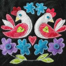 Love birds Block of the Month quilt pattern