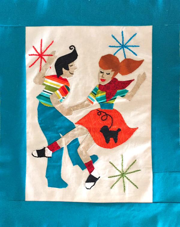 Retro Flash sew along! Free quilt block patterns each month!