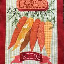 Join the Grandmas Garden Sew Along! Free quilt block patterns each month!