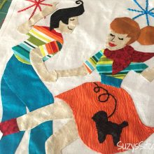 Join the Retro Flash Sew along. Free quilt block patterns each month!
