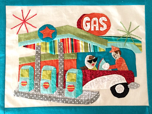 Retro Flash quilt pattern sew along. Free patterns each month!