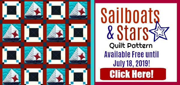 sailboats and stars quilt pattern