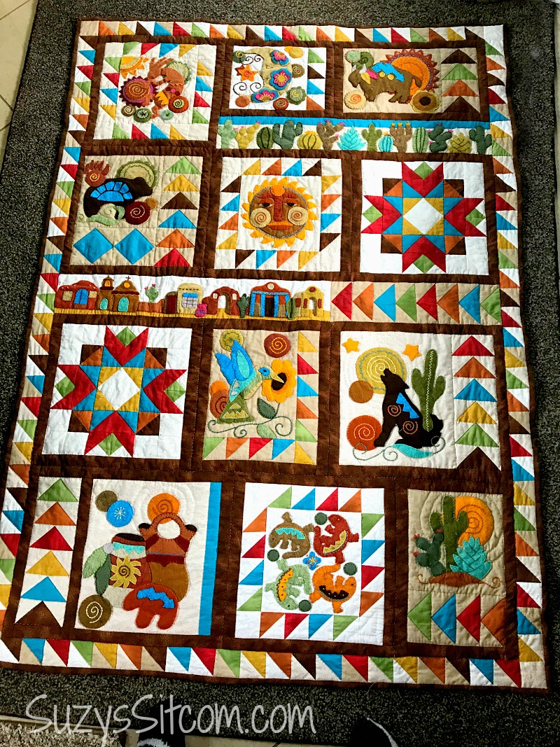 sonoran trail quilt pattern