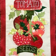 grandmas garden tomatoes quilt pattern