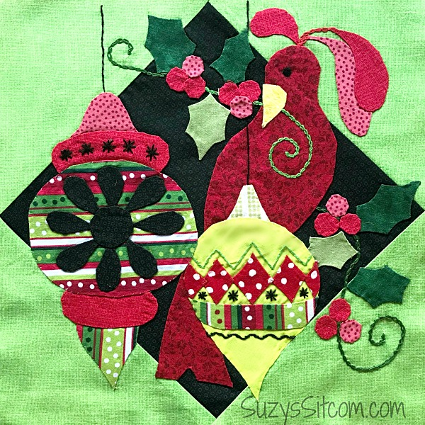 holiday for the birds quilt pattern sew along