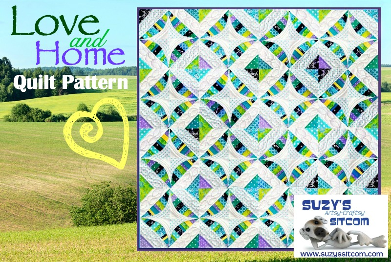 love and home quilt pattern