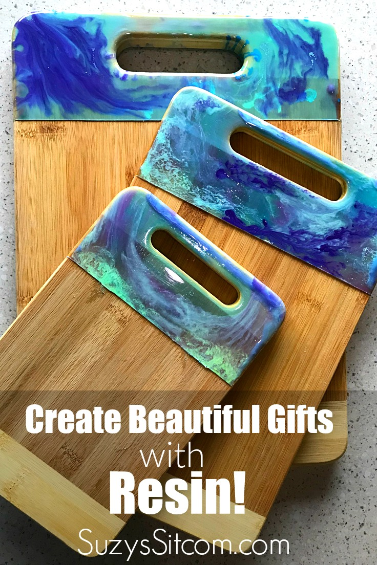 Diy Gift Idea Create Beautiful Cutting Boards With Resin